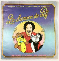 Pif Gadget - La Chanson de Pif (Méthode d\'Ocarina par Gaston) - Vaillant 1976