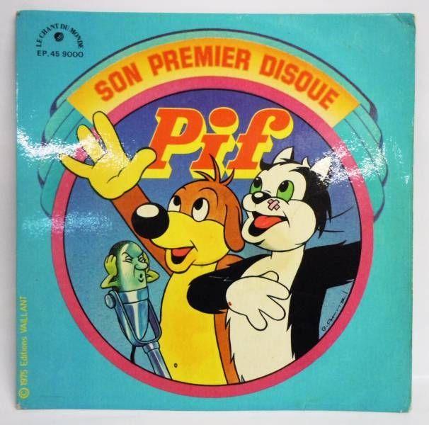 Pif Gadget - Mini-LP Record - 1975 Ed. Vaillant / Le chant du Monde