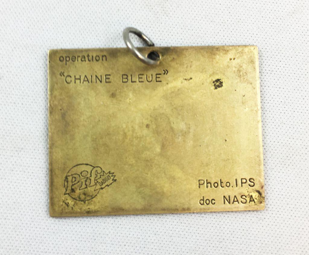 Pif Gadget - Pionner 10 Plate (Medal) - Pif Gadget #538 (1979