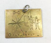 Pif Gadget - Plaque Pionner 10 (Médaille) - Pif Gadget n°538 (1979)