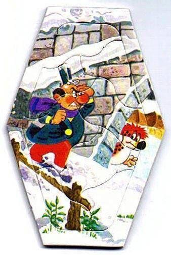 Pif Gadget - Puzzle Six de Savoie N° 06