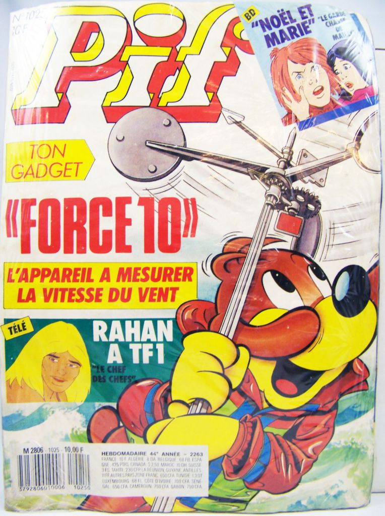 Pif Gadget #1025 (1988) - Force 10