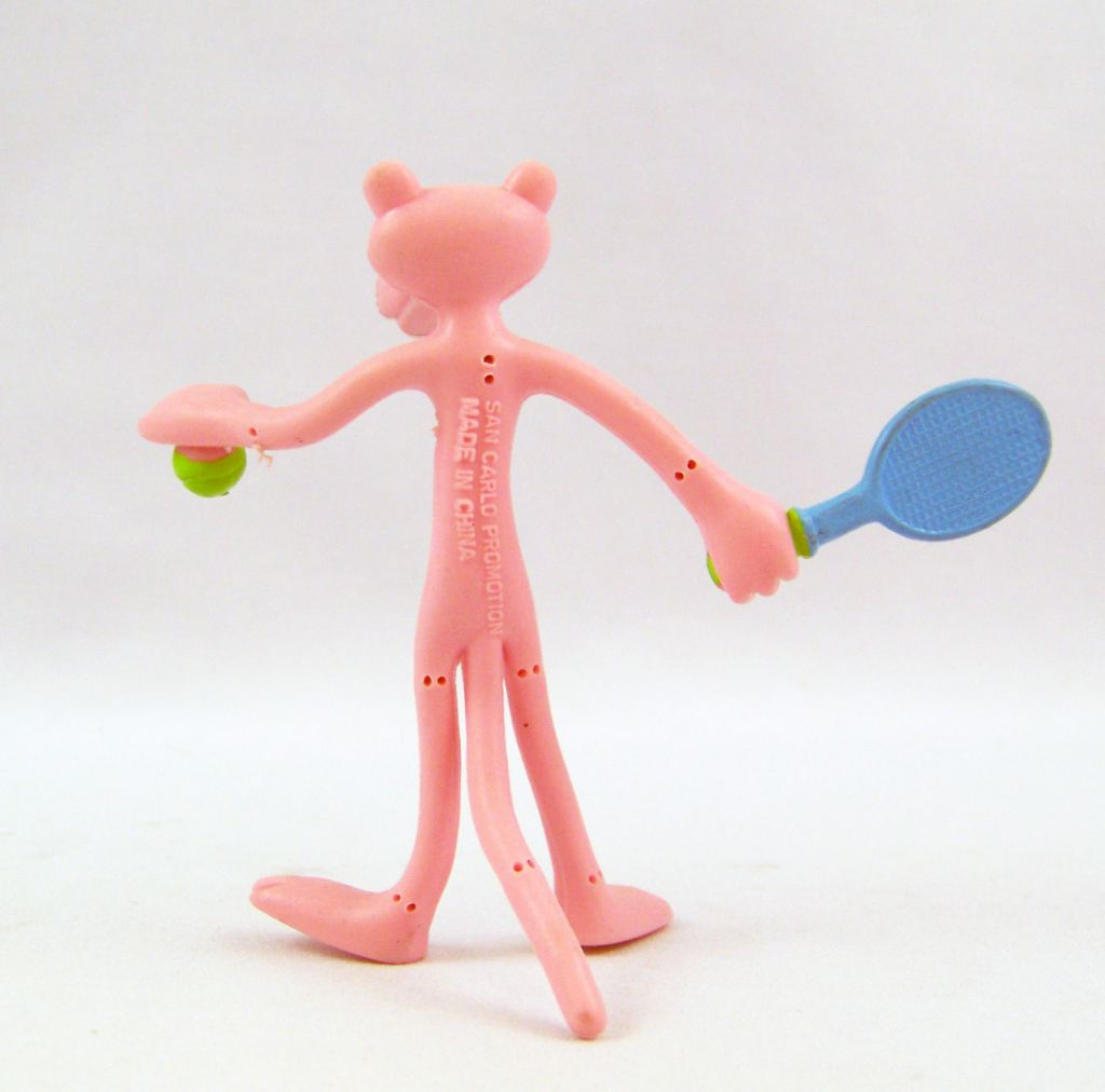 Pink Panther - Bendable Figure San Carlo Promotion - Tennis Player