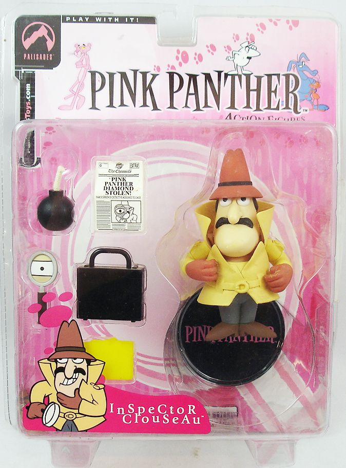Pink Panther - Palisades action-figure - Inspector Clouseau