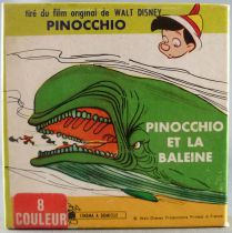 Pinocchio - 8mm Movie Color 15m Disney - Pinocchio and the Wale