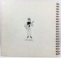 Pinocchio - Livre-Disque 45T Le Petit Ménestrel (1954) - Histoire racontée par François Périer