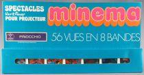 Pinocchio - Meccano France - Minema 8 Strips 56 Colors Views Mint in Box