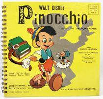 Pinocchio - Record-Book 45s Le Petit Ménestrel (1954) - Story told by François Périer