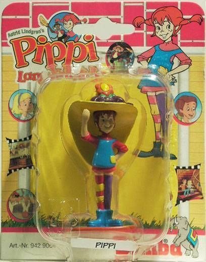 Pipi Langstrumpf , pvc figure , Fifi with hat
