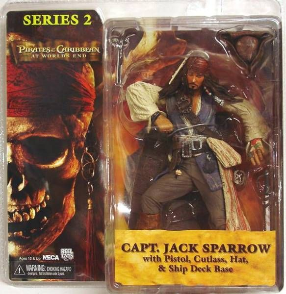 Pirates of the Carribean - At World\\\'s End Series 2 - Capt. Jack Sparrow