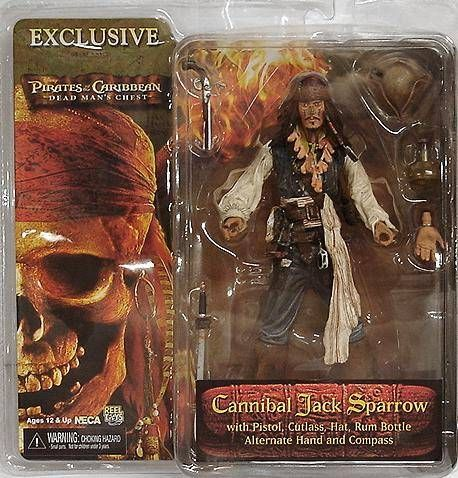NECA PIRATES OF THE CARIBBEAN maudit Pirate Figure Malédiction Black Pearl série 3