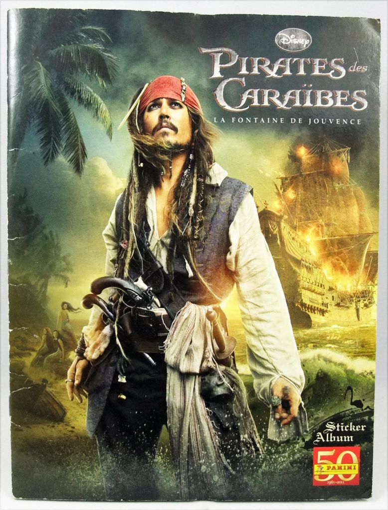 Pirates of the Carribeans - On Stanger Tides - Panini Stickers Album 2011