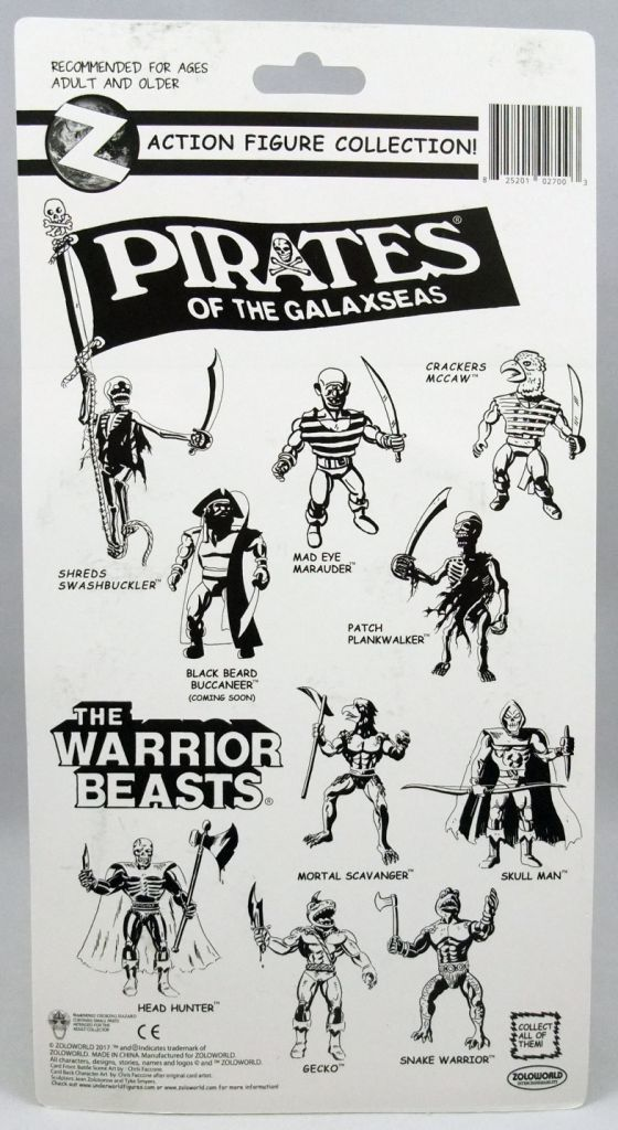 Pirates of the Galaxseas - Patch Plankwalker