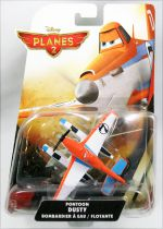 Planes 2 (Disney) - Mattel - Pontoon Dusty Bombardier à eau