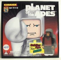 Planet of the apes - Medicom Kubrick - Soldier ape & Jail w/ Lucius & Taylor