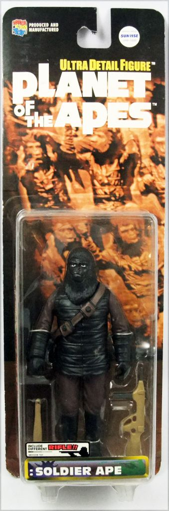 """Planet of the Apes - Medicom Ultra Detail Figure - Soldier Ape \""""Different Rifle\"""""""