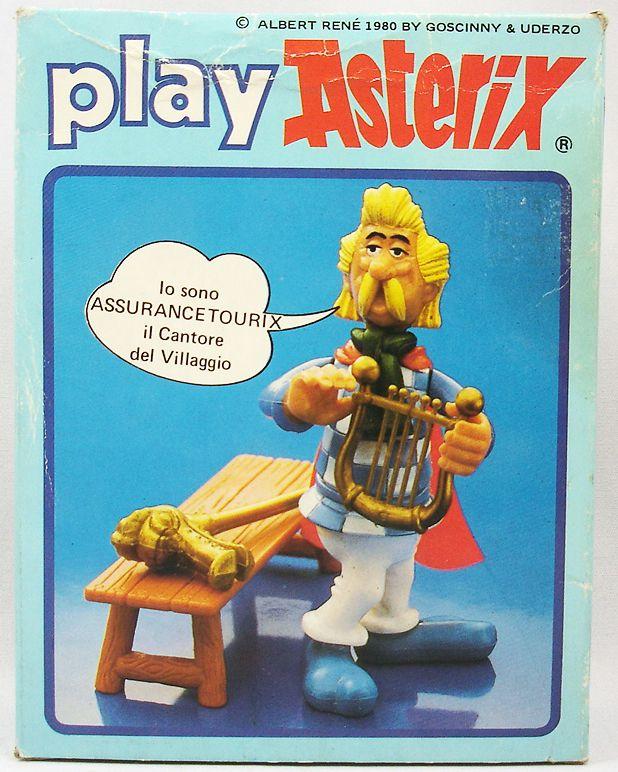Play Asterix - Assurancetourix le barde - CEJI Italie (ref.6205)