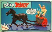 Play Asterix - Motorised Gallic chariot 1 horse - CEJI Italy (ref.6251)