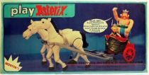 Play Asterix - Motorised Gallic chariot 2 horses - CEJI Italy (ref.6255)