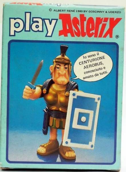 Play Asterix - Roman centurion Aerobus  - CEJI Italy (ref.6221)