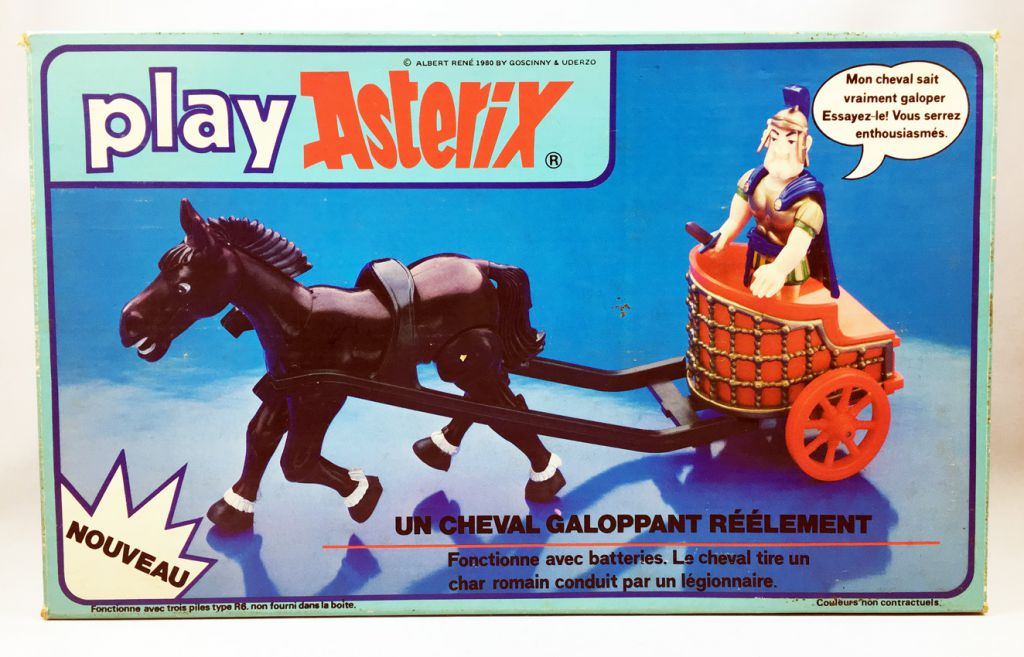 Play Asterix - Roman chariot with Centurion - CEJI France (ref.6250)