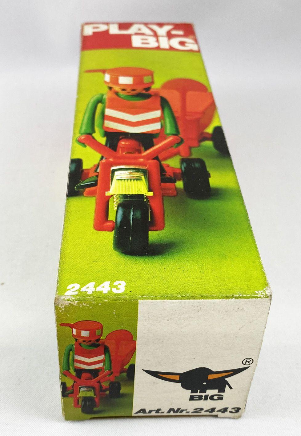 Play-Big - Ref.2443 Public Works Motorcycle