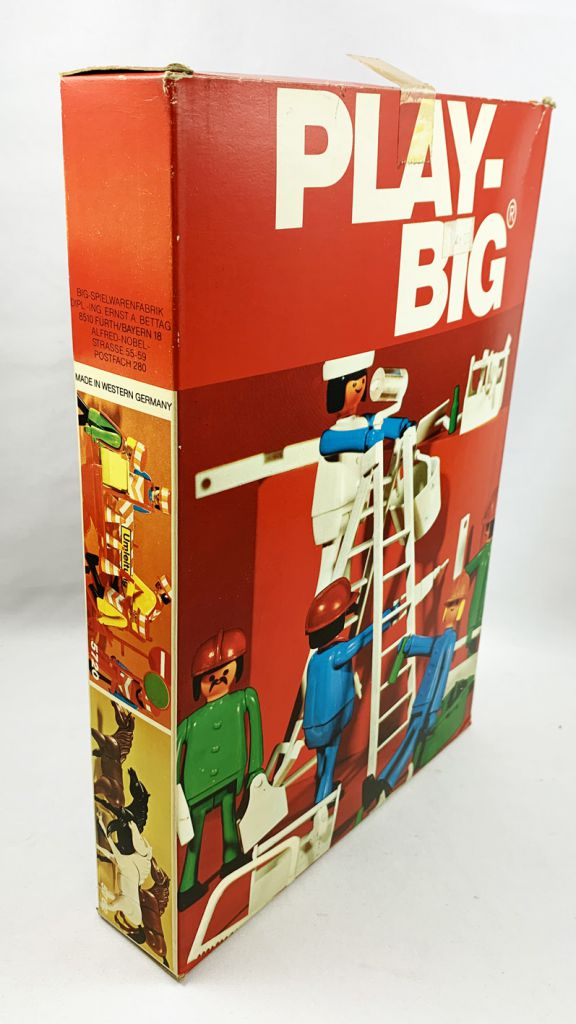 Play-Big - Ref.5700 Construction Worker-Set (Bauarbeiter-Set)