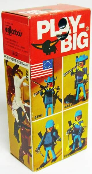 Play-Big - Ref.5863 Soldat Nordiste porte-drapeau
