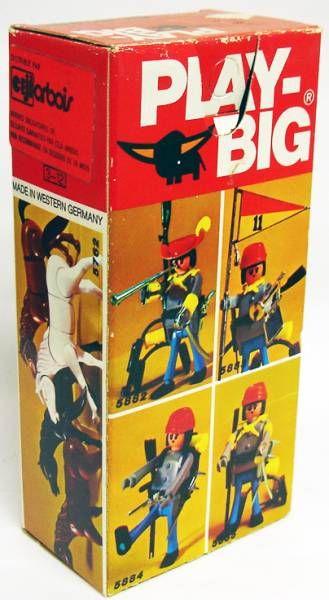 Play-Big - Ref.5881 Colonel Sudiste avec Drapeau Confédéré