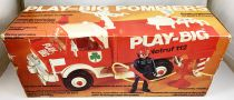 Play-Big (Céji-Arbois) - Ref.2400 Play-Big Pompiers (Véhicule + 1 Figurine)
