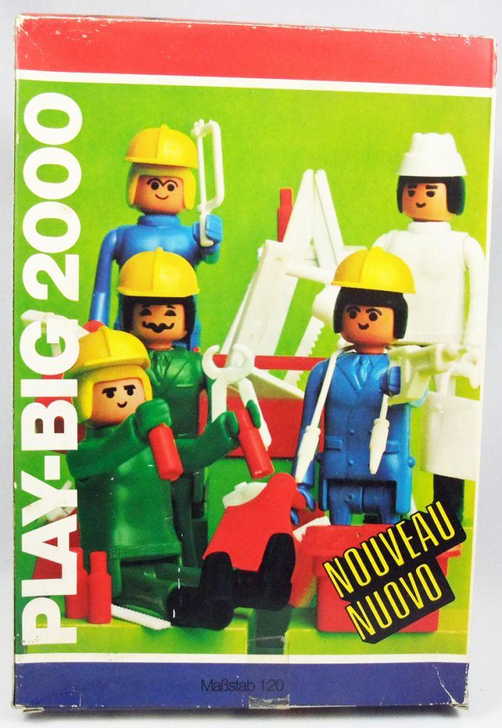 Play-Big 2000 - Ref.5700 Les Ouvriers du Bâtiment (Bauarbeiter-Set)