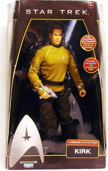 Playmates - Star Trek 2009 - Kirk (Chris Pine) - Poupée 30cm