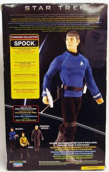Playmates - Star Trek 2009 - Spock (Zachary Quinto) - Poupée 30cm
