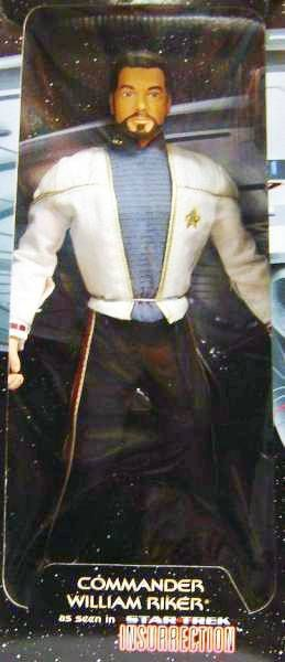 Playmates - Star Trek Insurrection - Commander William Riker - 12\'\' figure