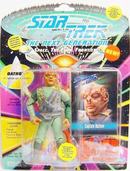 Playmates - Star Trek The Next Generation - Captain Dathon
