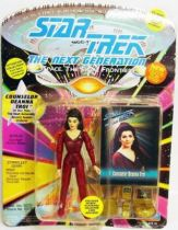 Playmates - Star Trek The Next Generation - Counselor Deanna Troi (2nd season uniform)
