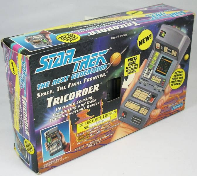 Playmates - Star Trek The Next Generation - Tricorder