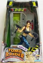 Playmates - Tomb Raider -  10\'\' figure - Lara Croft in Area 51