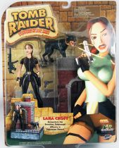 Playmates - Tomb Raider -  London :  Lara Croft encounters the Ferocious Doberman