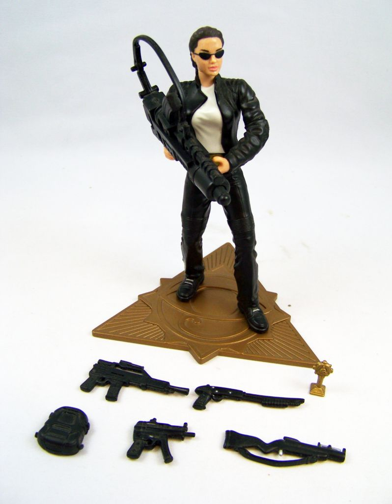 Playmates - Tomb Raider the Movie - Figurine 16cm - Lara Croft en tenue motard
