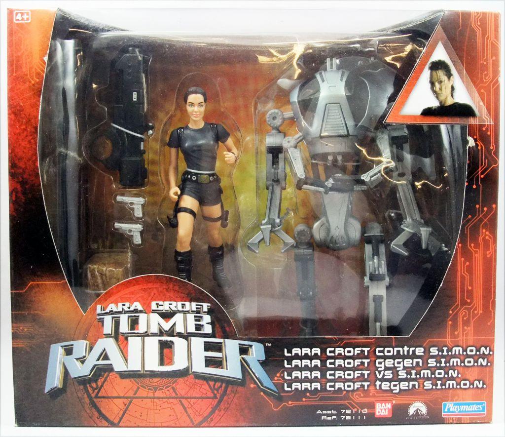 Playmates - Tomb Raider the Movie -  6\'\' figure - Lara Croft vs. S.I.M.O.N.