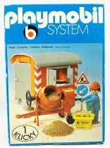 Playmobil - Abri de Chantier et Ouvrier (1976) Ref.3207