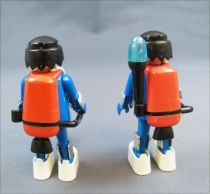 Playmobil - PlaymoSpace (1980) - 2 Astronauts w Cart n° 3589 08