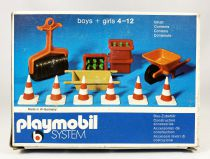 Playmobil -Public Works Equipment (1974) Ref.3207