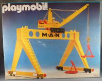 Playmobil 4210 - Man Crane - Mint in Sealed Box