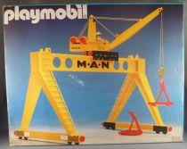 Playmobil 4210 - Portique avec Grue Man - Neuf Boite Scellée