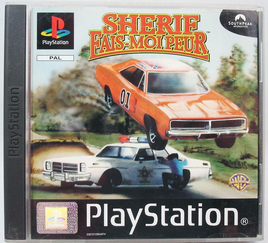 PlayStation 1- The Dukes of Hazzard (PAL version)