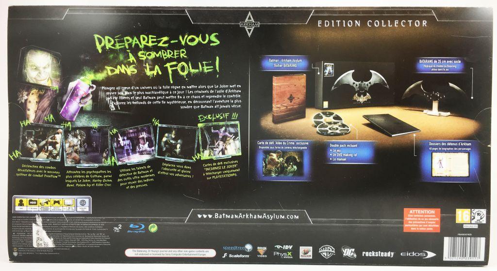 PlayStation 3 - Batman Arkham Asylum Collector\'s Edition w/Batarang (14inch