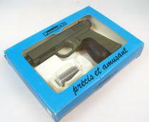"Pneuma.Tir - Syljeux France - Pistolet Kaki \""Militaire\"" (neuf en boite)"
