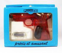 Pneuma.Tir - Syljeux France - Pistolet Rouge Translucide (neuf en boite)